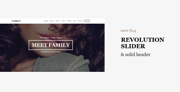 Family - MultiPurpose Responsive One Page Template