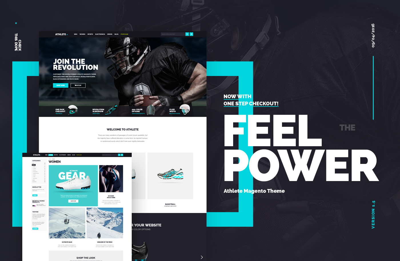 athlete magento theme